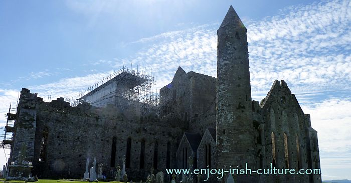 The Rock of Cashel, County Tipperary, Ireland.