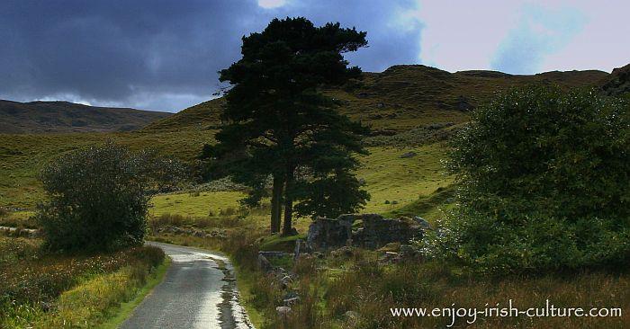 Connemara landscape, County Galway, Ireland