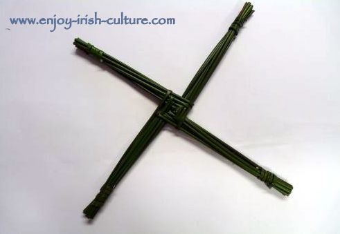 St Brigid's Cross making
