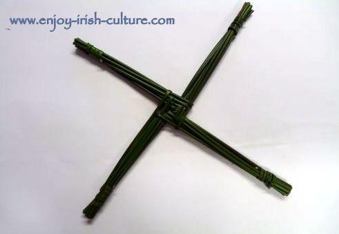 St Brigid's Cross making