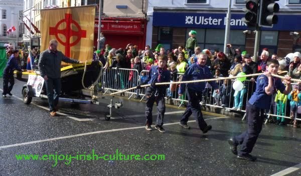 St Paddy's Day in Galway, Saint Brendan's boat