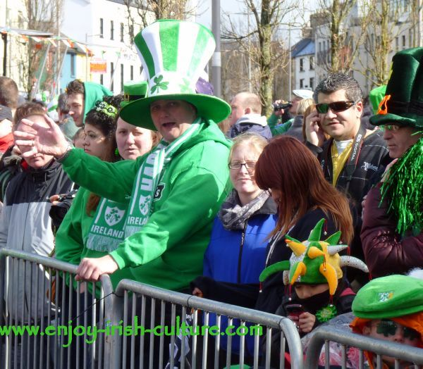 St Paddy's Day in Galway, audience
