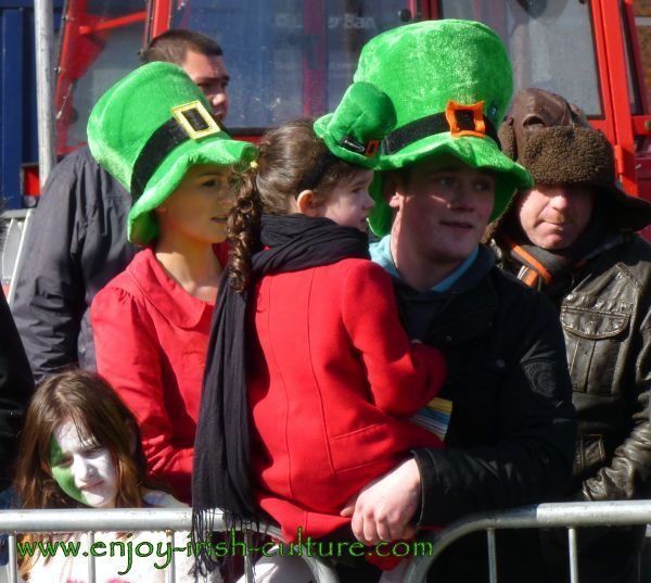 Paddy's Day in Galway, Ireland- a brief moment of sunshine