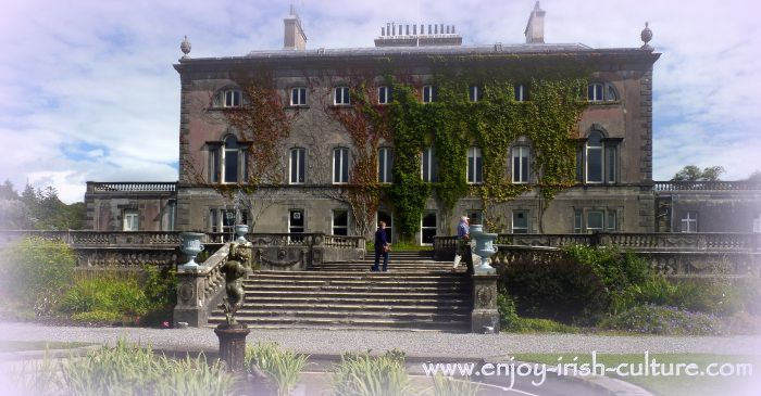 The irish big house at westport, County Mayo, Ireland.