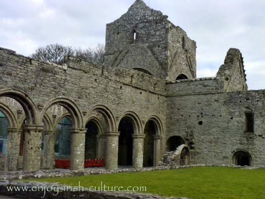 Abbey at Boyle, County Roscommon, church and bell tower.