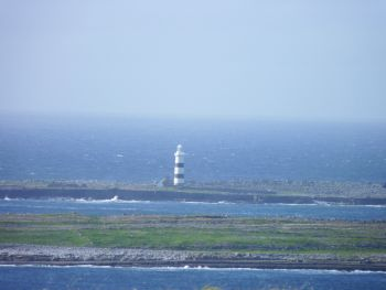 Bun Gabhla at the westernmost end of the island of Inis Mór, County Galway, Ireland.