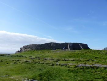 Dun Aengus stone fort, Inishmore, County Galway, Ireland.