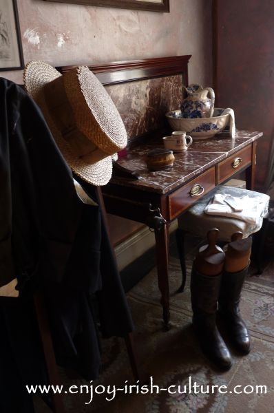 The gentleman's room, Strokestown Park House,  County Roscommon Ireland.