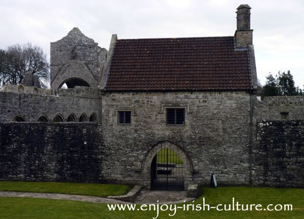 Boyle town, County Roscommon, Boyle Abbey