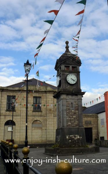 Boyle town, County Roscommon, clock tower