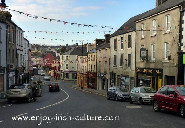 Boyle, County Roscommon, street view.