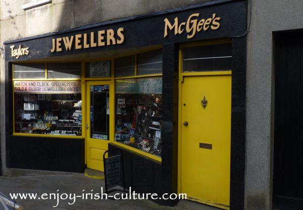 Mc Gee's Shop in Boyle town, County Roscommon, Ireland.