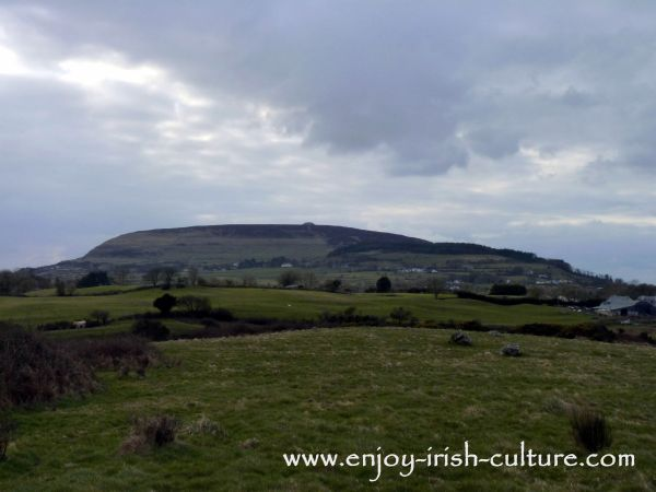 View towards Knocknarae County Sligo, Ireland- one of the best places to visit if you are curious about ancient Ireland.
