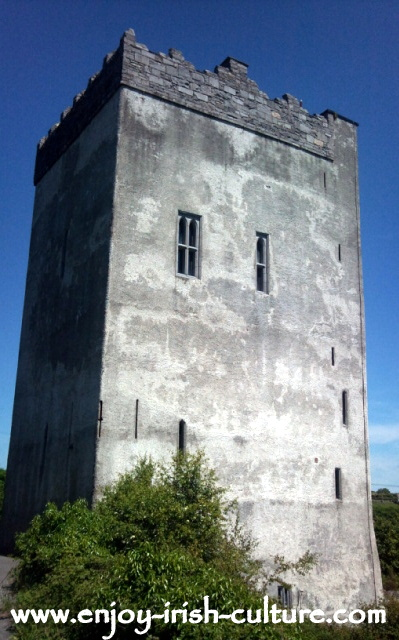 Ballindooley Castle near Galway City, Ireland.
