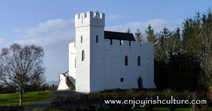 Cargin Castle, County Galway, Ireland.