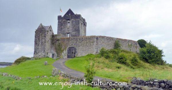 Dunguaire Castle, Kinvara, County Galway, Ireland.