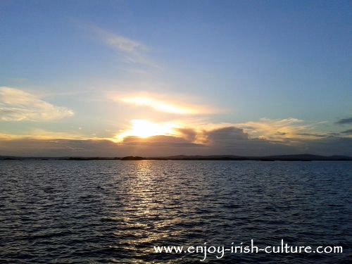 Lough Corrib is a favourite destination for fishing in Ireland.