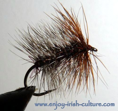 Fishing fly for Ireland- a balling buzzer.
