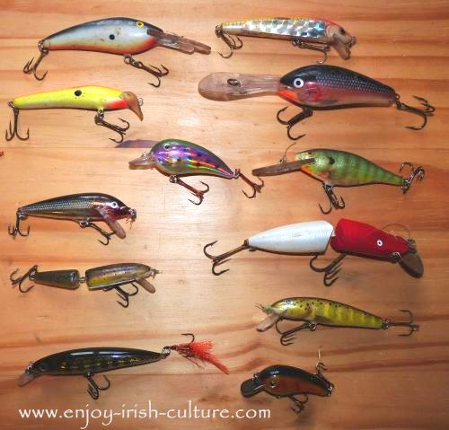 Try fishing for pike in Ireland with various plugs.