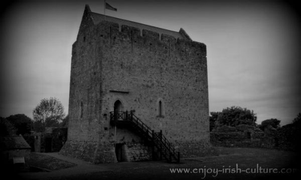 Athenry Castle in County Galway, Ireland, held out through two crucial medieval 'Battles of Athenry'.