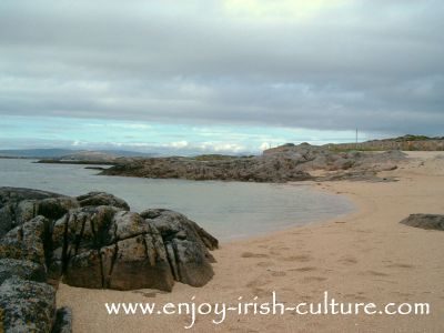 Carraroe Coral Beach, County Galway, Ireland.
