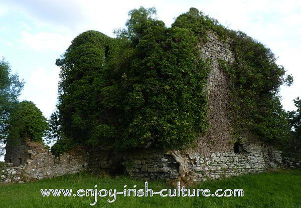 Ballycurrin Castle, County Mayo, Ireland.