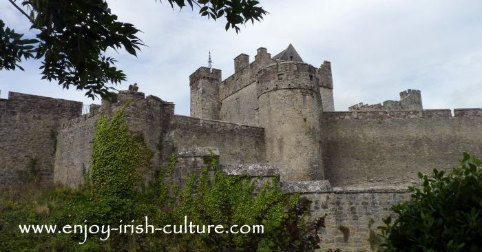 Cahir Castle, County Tipperary- one of the best preserved medieval castles in Ireland.