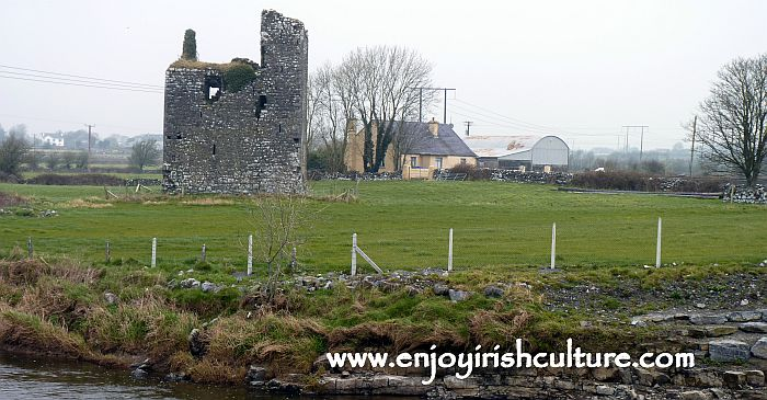 Kiltrogue Castle, County Galway, Ireland.