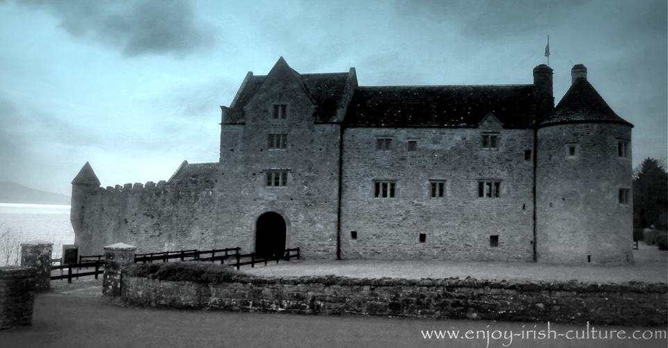 Parke's Castle, County Leitrim, Ireland.