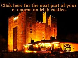 Irish castles course