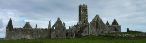 Ireland history- Ross Abbey or Ross Errilly Abbey, Ireland