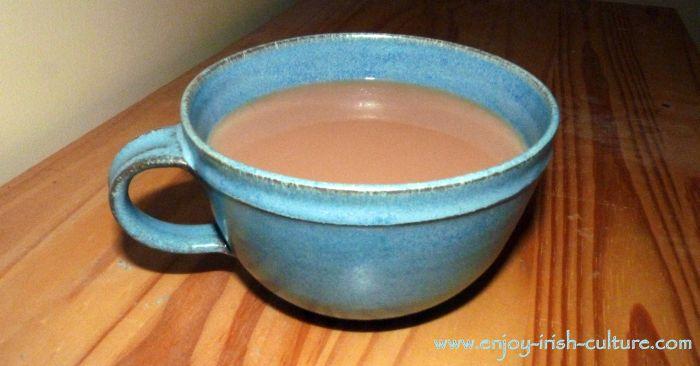 Cup of tea, Ireland.