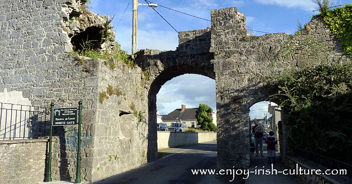 Norman Ireland at Fethard County Tipperary- the North Gate