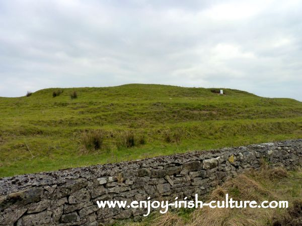 The ancient fort of Rathbeg at ancient Ireland's Rathcroghan Royal Site at Tulsk, County Roscommon, Ireland.