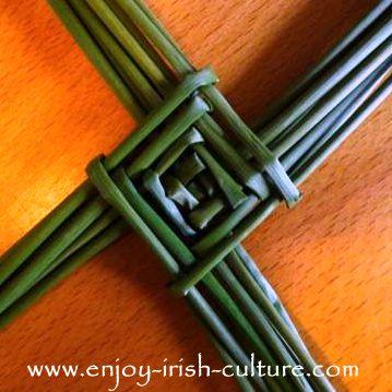 Saint Brigid's Cross.