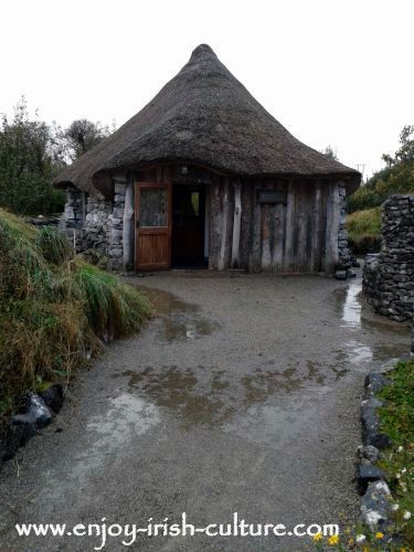 Brigid's Garden Roundhouse, Roscahill, County Galway, Ireland.