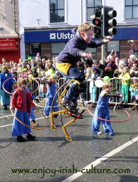 Paddy's Day in Galway, Ireland-Galway Community Circus