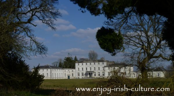 Strokestown Park House, County Roscommon, Ireland.